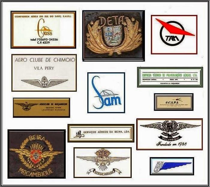 Emblemas de Empresas ligadas à aviação