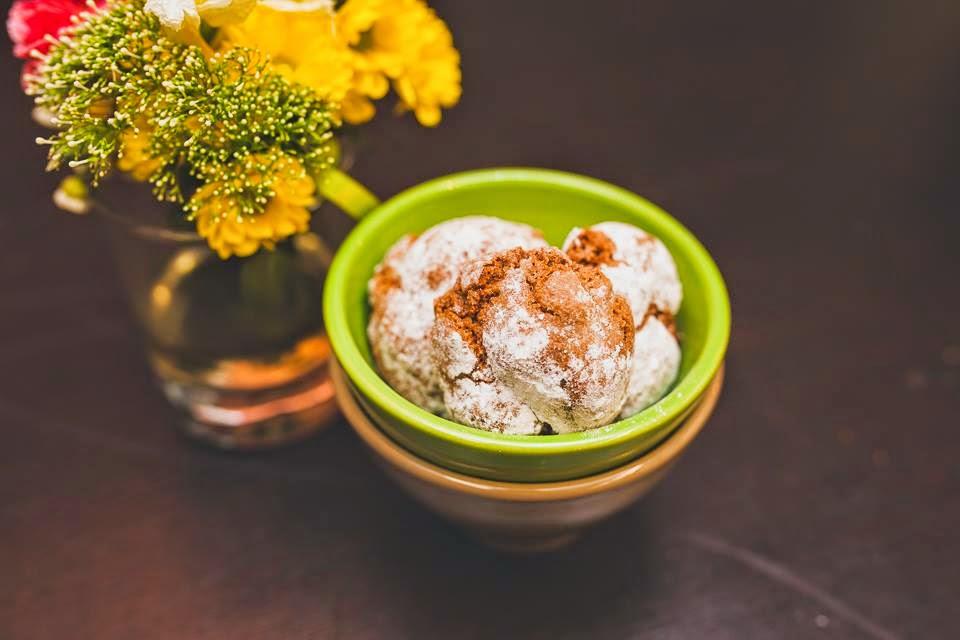 Шоколадное печенье амаретти