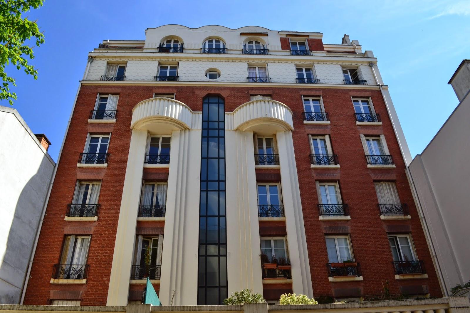 Paris on th me l 39 habitat priv dans l 39 art d co 1ere partie for 4 sq