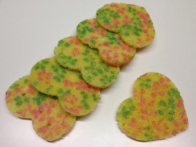 biscotti decorati con gli stencil alimentari