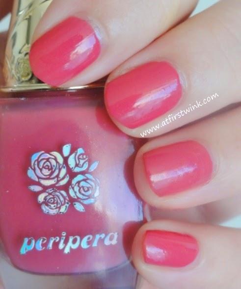 Peripera nail polish PK012