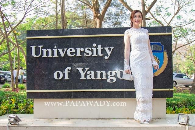 Yu Thandar Tin - Beautiful Myanmar Lady on Graduation Day