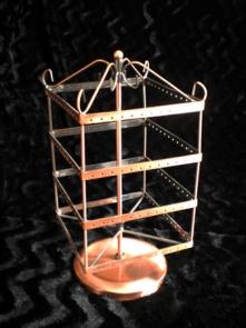 Organizador pendientes prisma