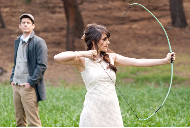 &quot;Hunger Games&quot; Themed Wedding