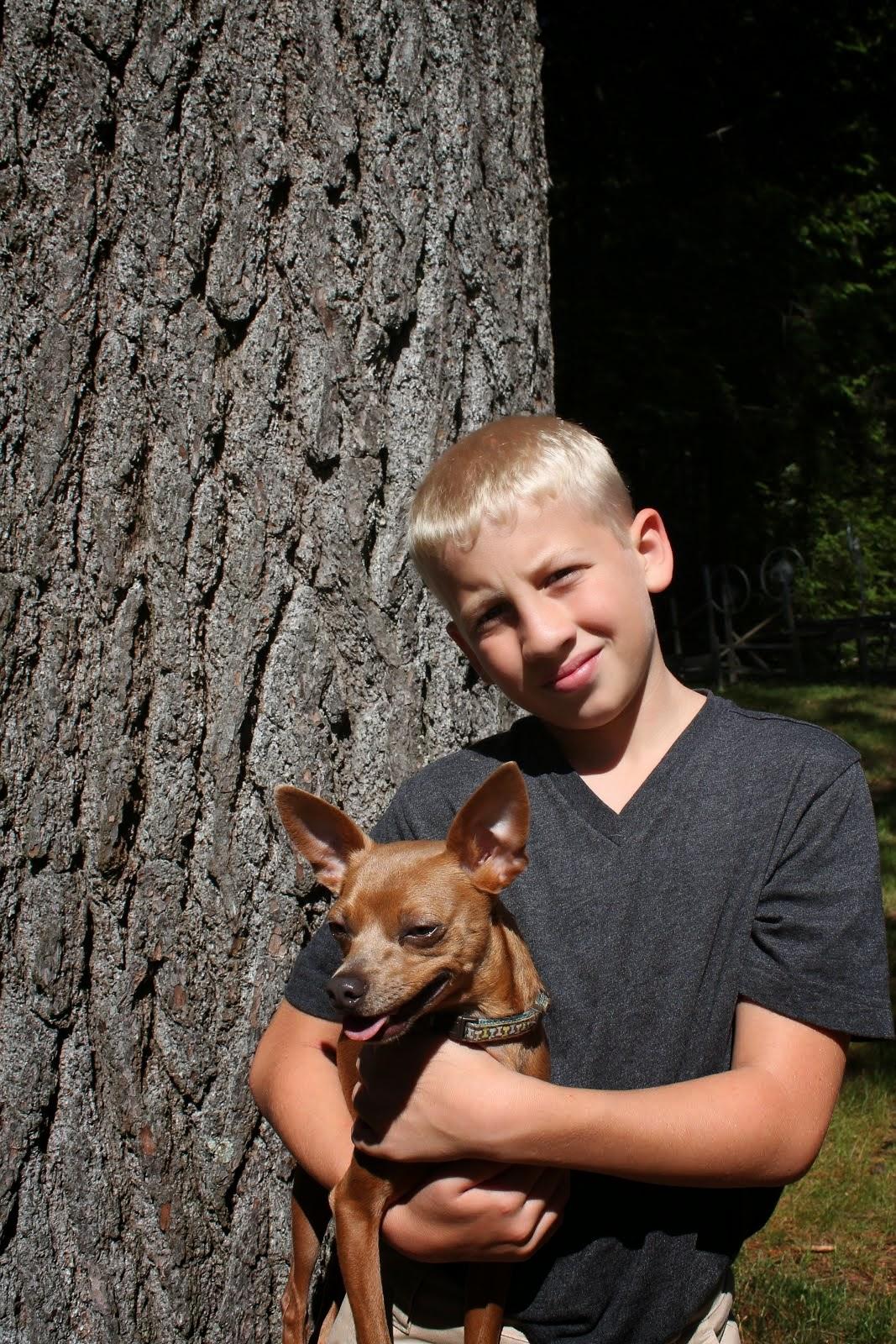 Gavin 12 years old