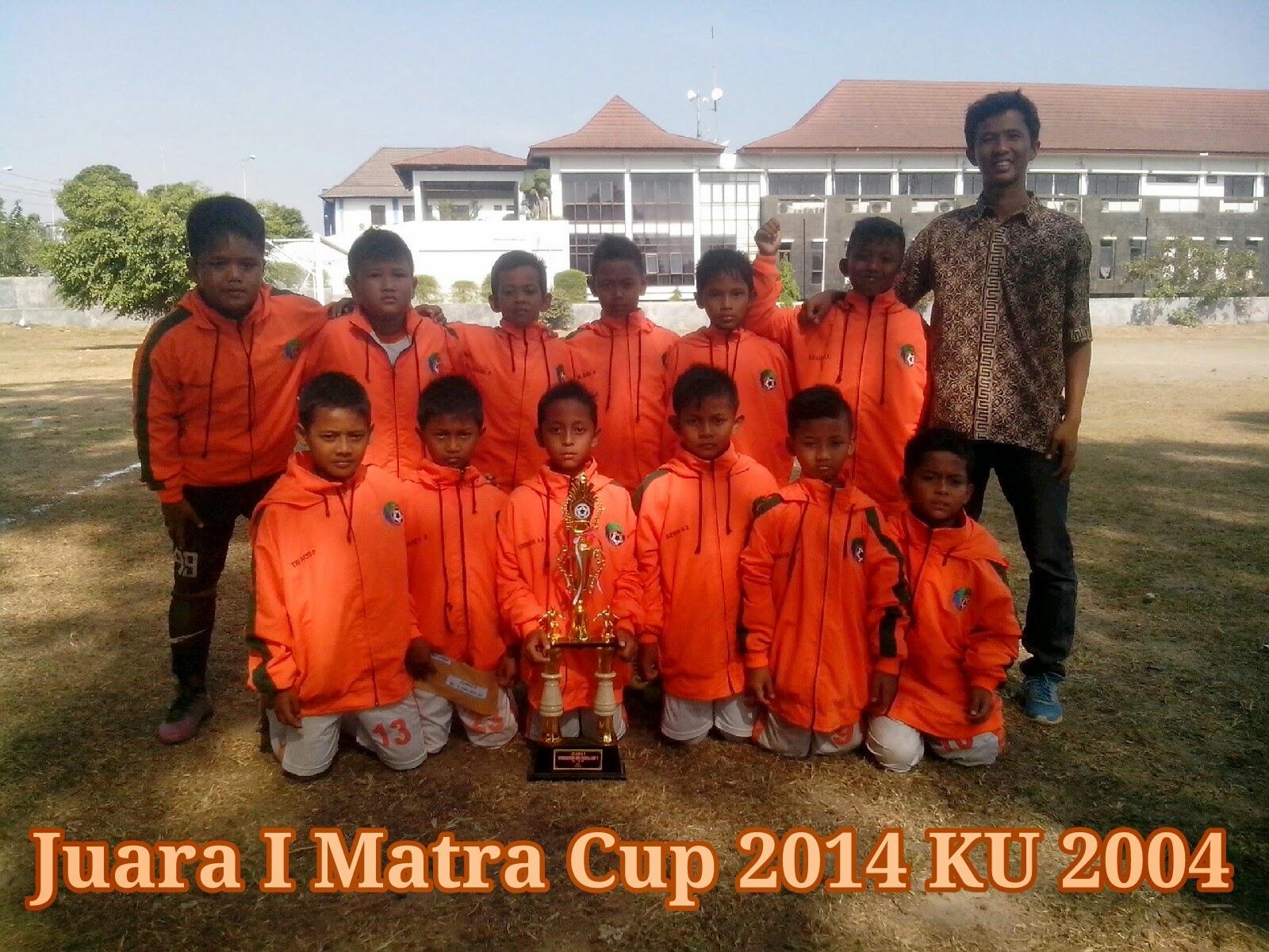 SSB Baturetno Juara I Matra Cup 2014