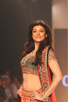 Sushmita Sen in Fashion Show Latest Navel Photos-IIJW 2013