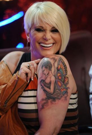 Carmen Barbieri y su nuevo tatuaje