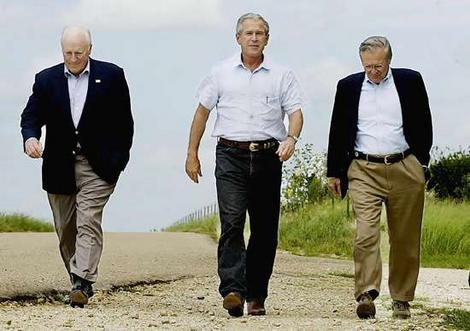 Busy, Cheney, and Rumsfeld Disgusted At Obama's Use of National Tragedy to Push a Pre-Existing Political Agenda