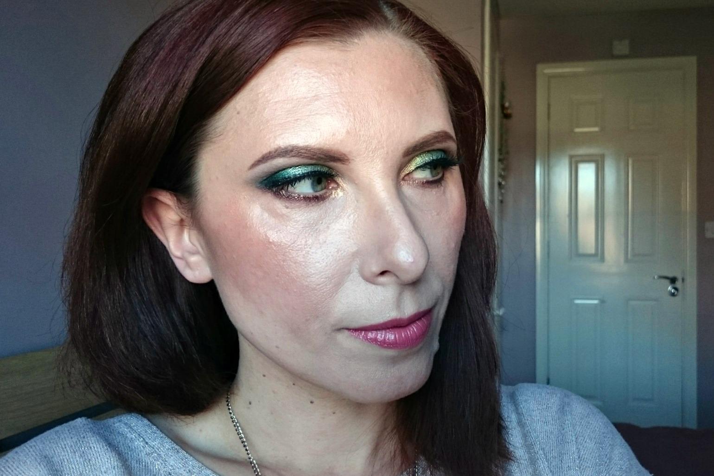 Garden of Eden makeup look