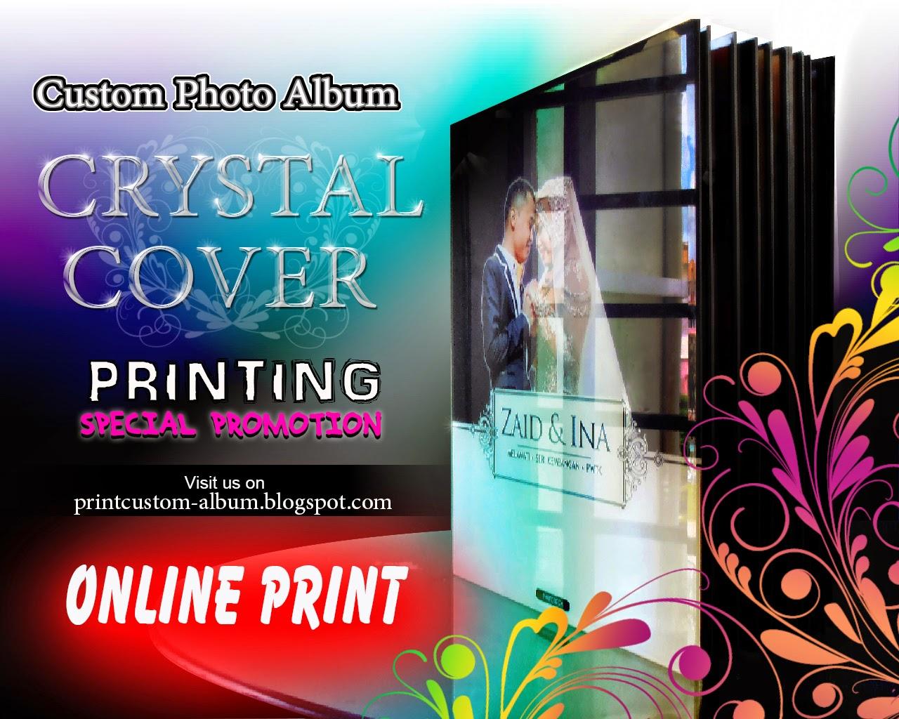 buat custom album crystal,cetak custom album,tempat cetak custom album,cara buat custom album,print custom album