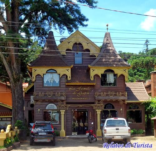 La Famille de Gazon Restaurante em Gramado.