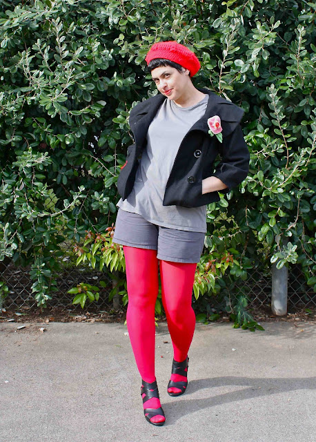 outfit post: Pillar Box Red
