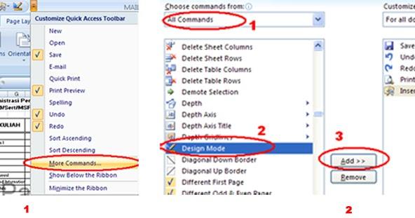 Campur Baur Blog: Mail Merge di Excel 2007