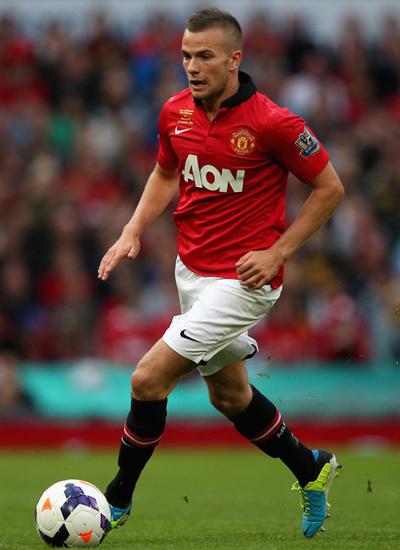 Tom Cleverley Midfielder Man United 2013