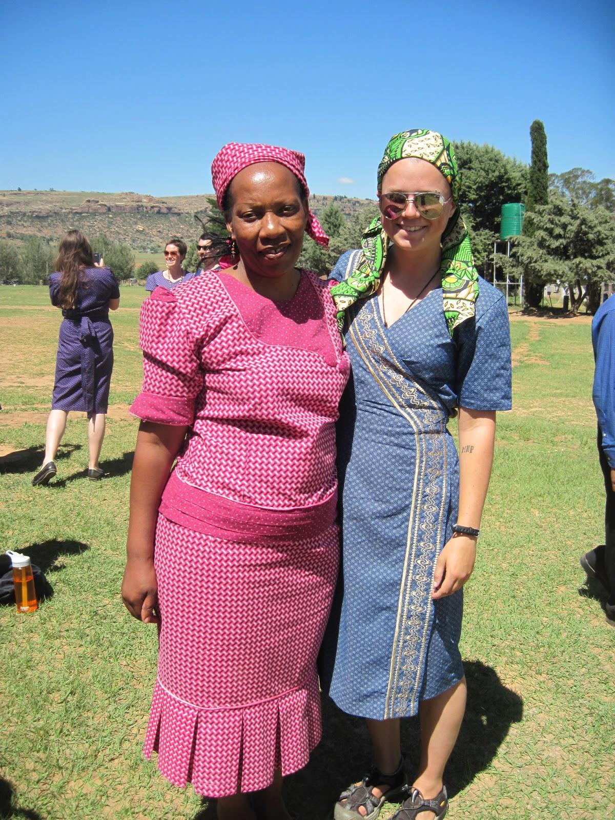 Basotho Traditional Dresses