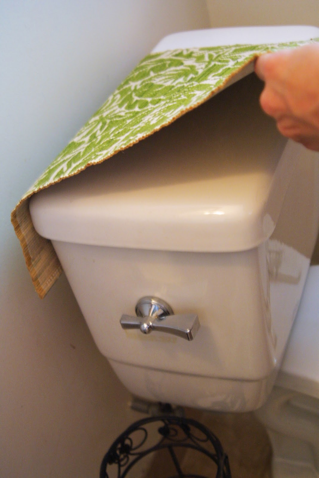 Diy Sweet N Simple With Angelique Cover Your Toilet Tank