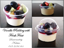 Vanilla Pudding with Fresh Fruit