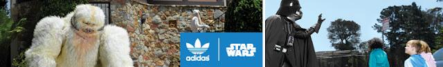 El lado más friki de Adidas – Ropa para los fanáticos de Star Wars y Adidas