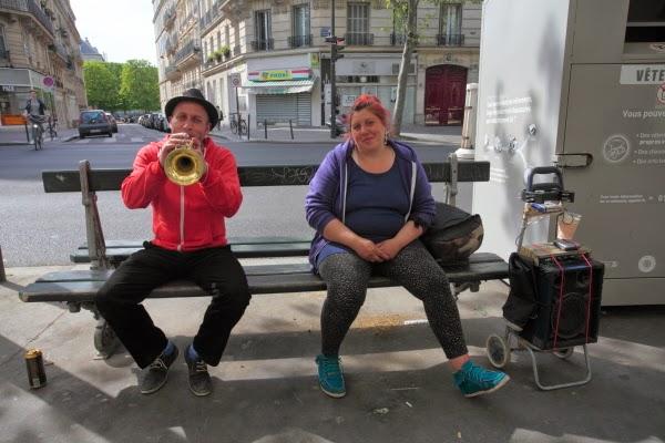 Paris  Buskers