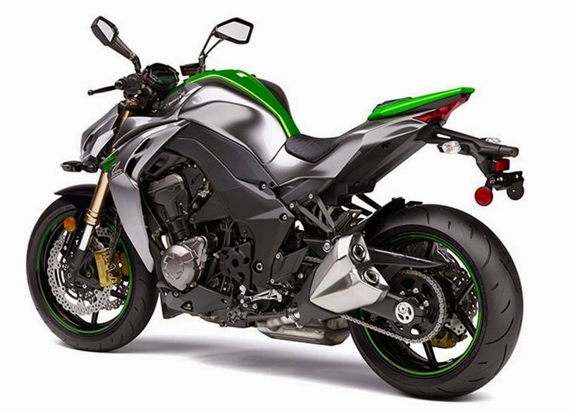 Bike Oh Bike: 2014 Kawasaki Z1000 Spec