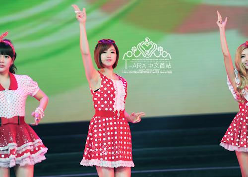 Foto T-ara di Gala Spring Festival 2013 Anhui TV