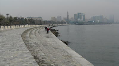 Marea Caspica, Baku, Azerbaijan