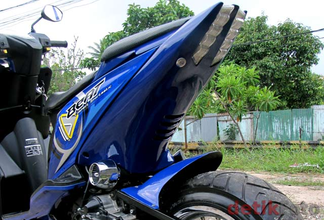 Honda Beat was overhauled by oriented Honda Icon from Thailand that is  title=