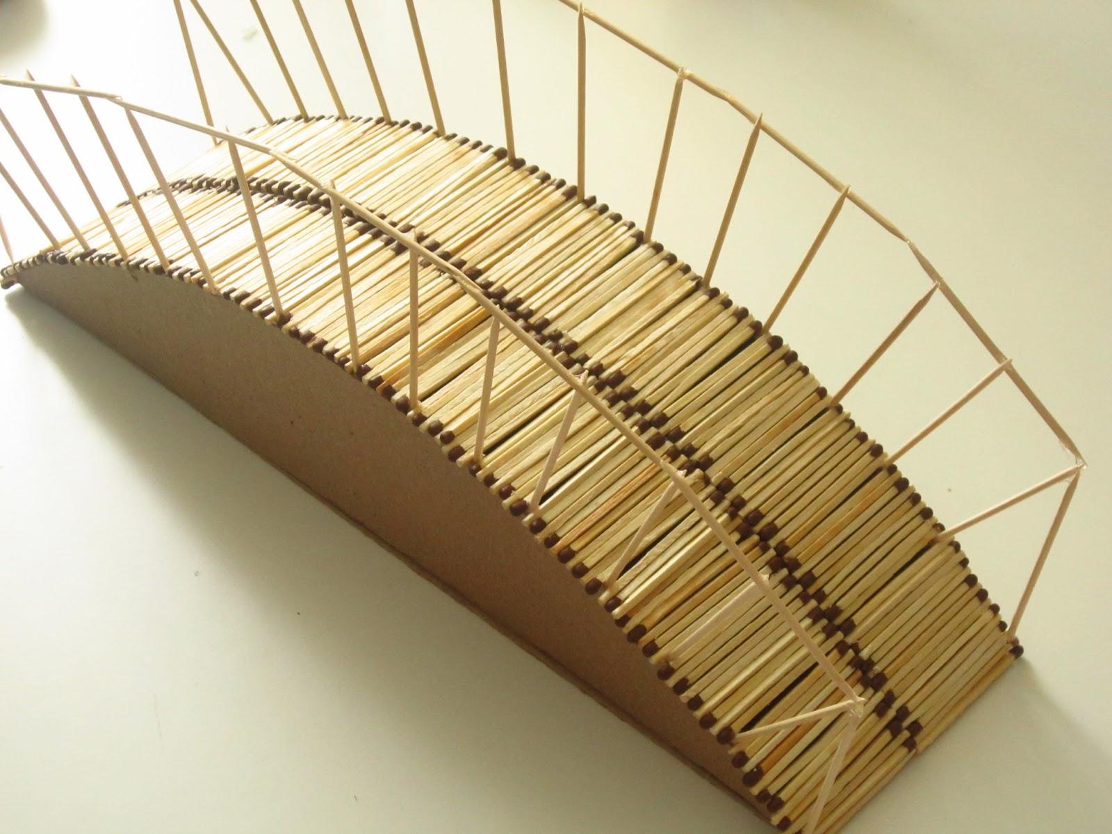 Мост из картона