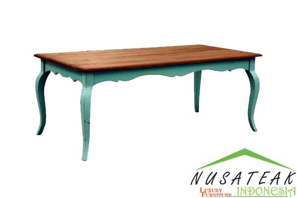 Blitar Classic Dining Table - Nusa Teak