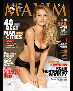 Monica Apro Rosie Huntington sizzles Maxim FHM June 2011 Must See Girls in