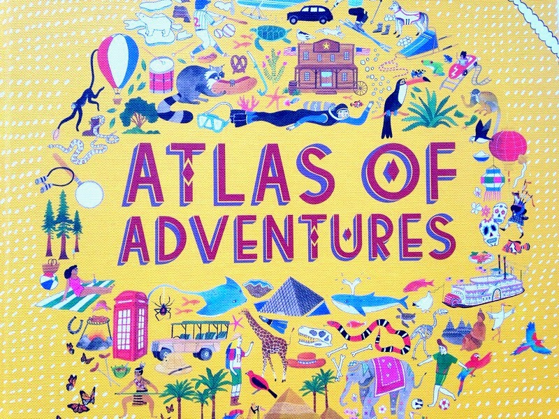 Children's Book Atlas of Adventure