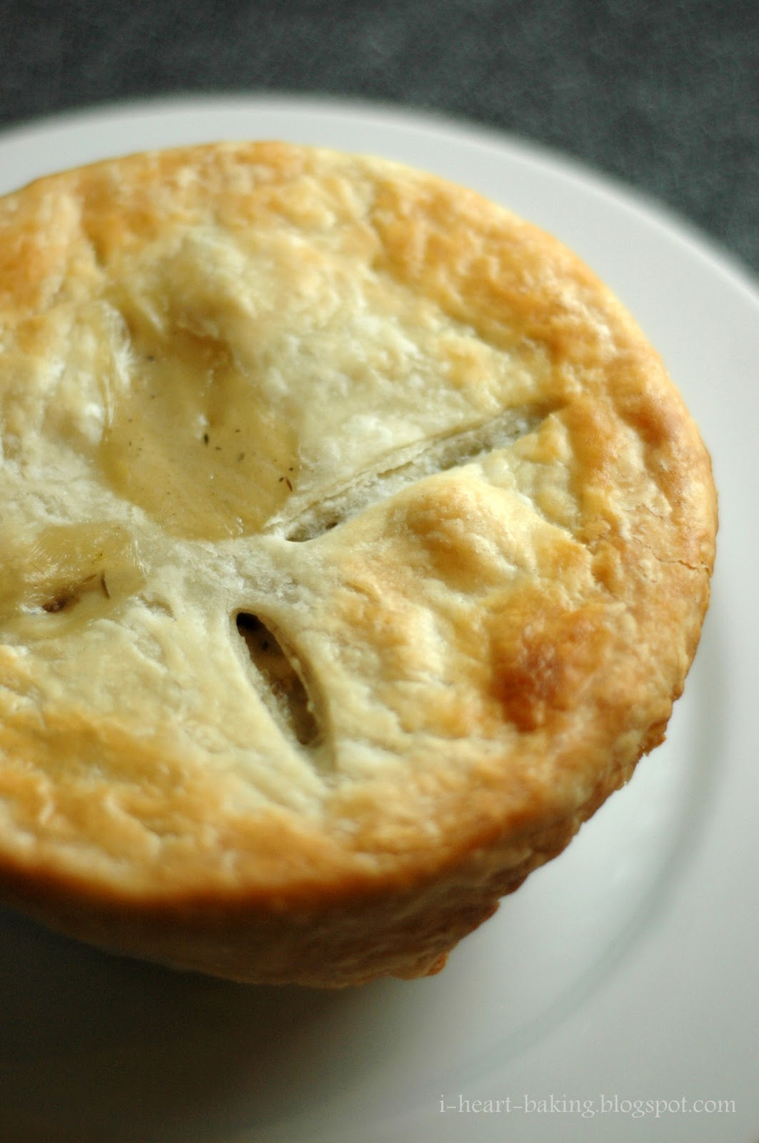 heart baking!: chicken pot pie