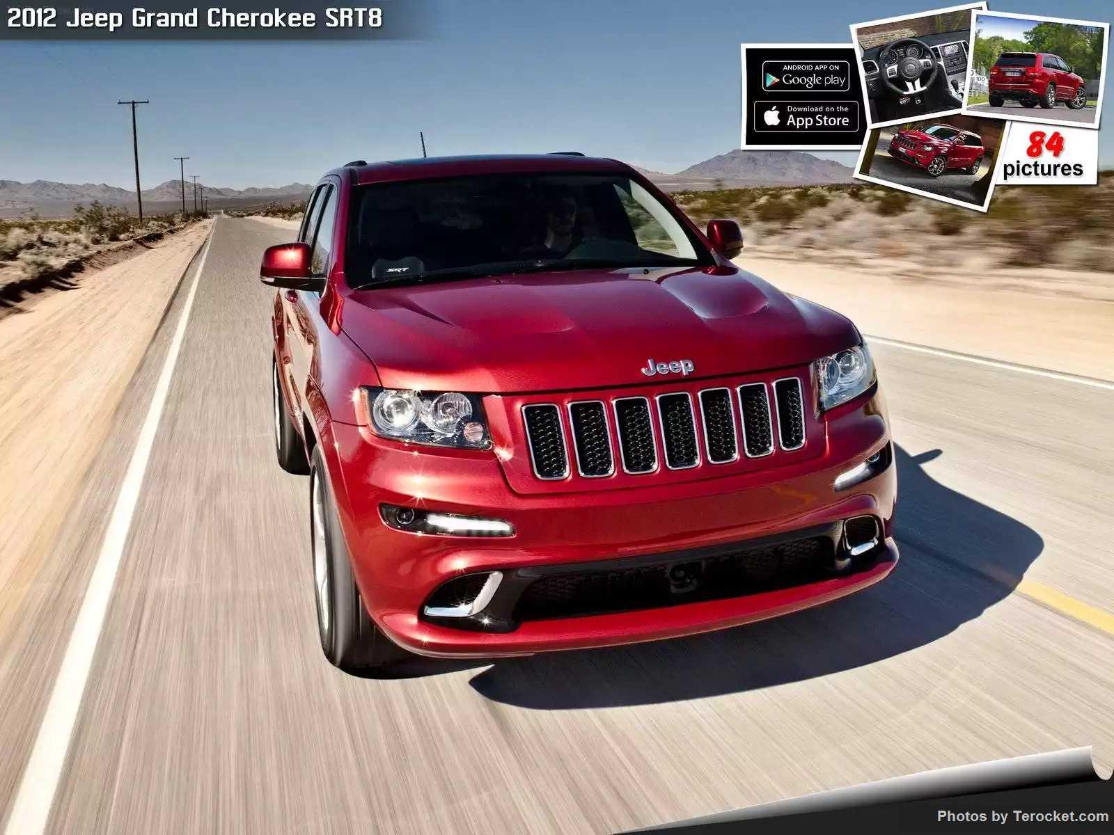 Hình ảnh xe ô tô Jeep Grand Cherokee SRT8 2012 & nội ngoại thất