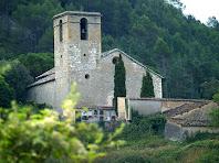 Sant Andreu de Castellcir des del passant de la riera