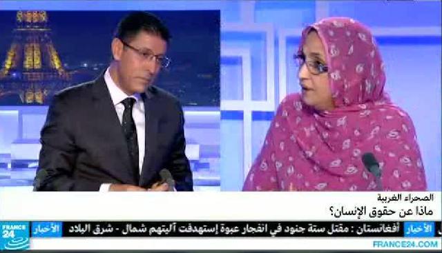 Aminatu Haidar y el verdugo de France-24