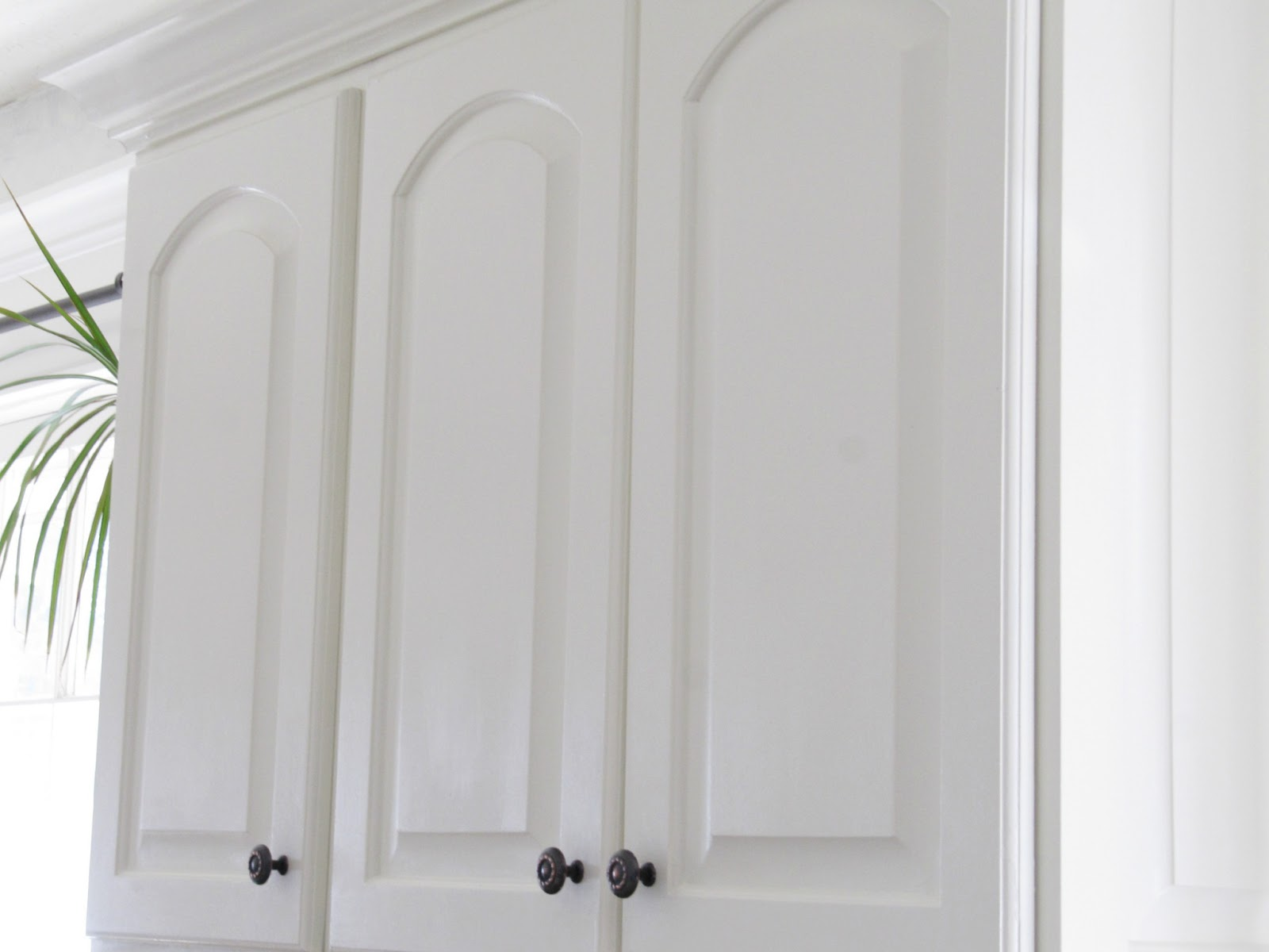 Painted Kitchen Cabinets - The Wicker House