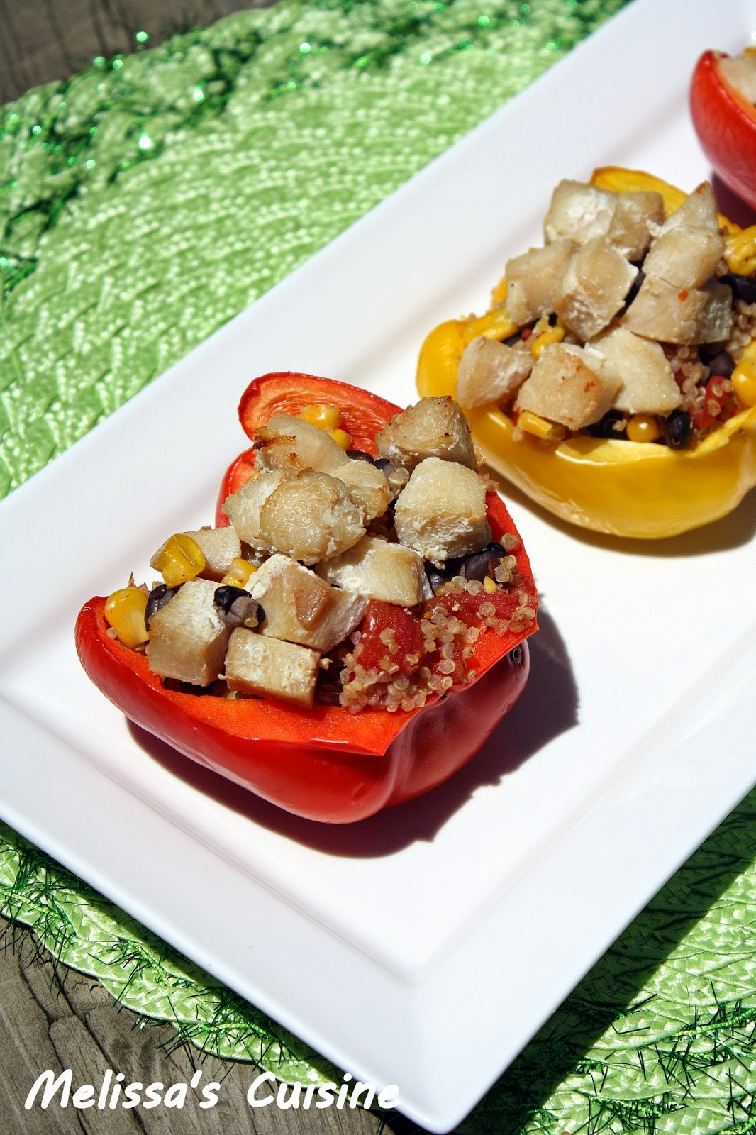 Melissa's Cuisine: Stuffed Peppers