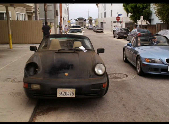 Welchen Porsche fährt eigentlich Hank Moody in Californication ... Daniel Craig
