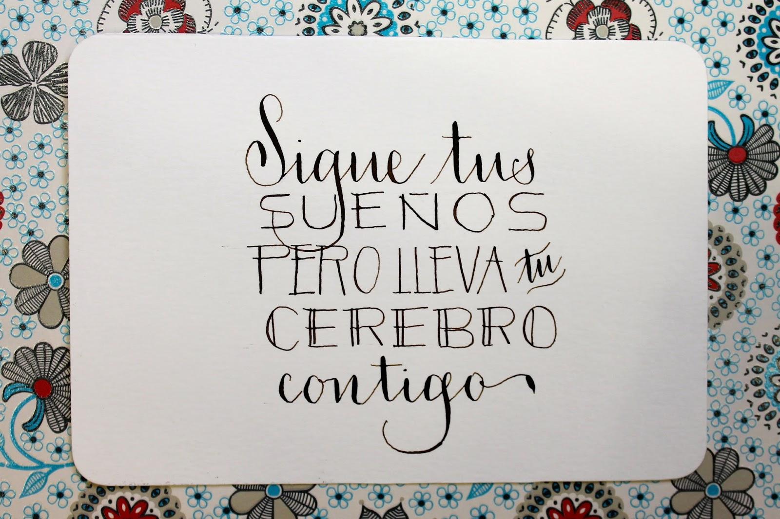 Mi Papel Preferido: 6 formas de aprender caligrafía y lettering