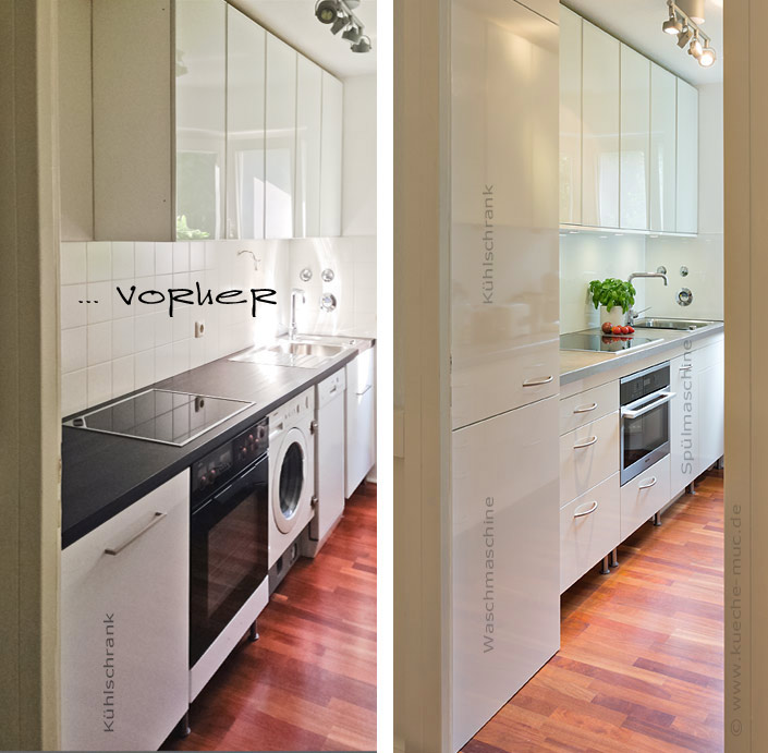 Küchenfronten Selbst Erneuern: Küche vorher nachher bilder ...