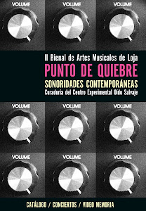 DESCARGA EL CATÁLOGO + CD DE SONORIDADES CONTEMPORÁNEAS 2011, UNA CURADORÍA DE OÍDO SALVAJE.