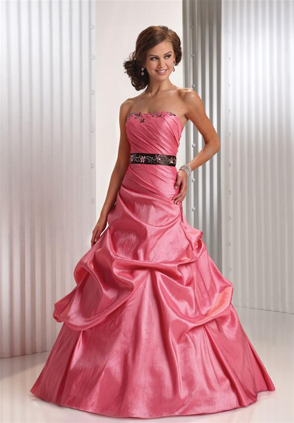Pink Prom Dresses 2013 Sweet pink cand...