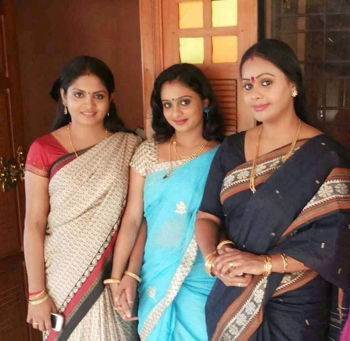 Parasparam Serial Actress Location Stills Malayalam Serial
