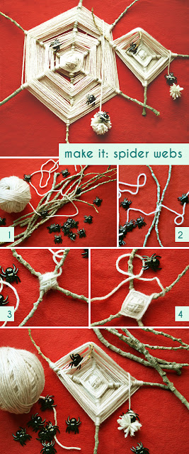как сделать поделку паук на паутине из веток