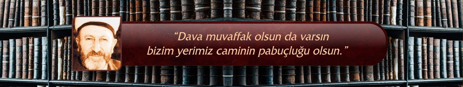 Süleyman Hilmi Tunahan | Akademi Dergisi | Mehmet Fahri Sertkaya