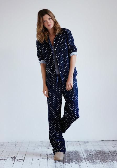 polka dot pyjamas