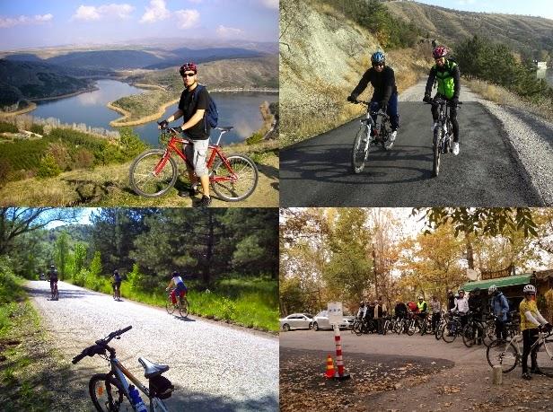 Eymir Gölü Bisiklet Sürme
