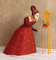 Il·lustracions amb plastilina: Irma Gruenholz