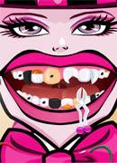 Сумасшедший дантист - Онлайн игра для девочек
